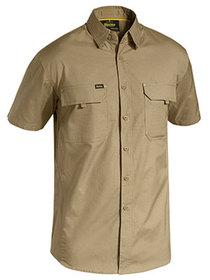 'Bisley Workwear' Mens X Airflow Ripstop Short Sleeve Shirt