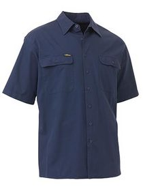 'Bisley Workwear' Cool Lightweight Short Sleeve Drill Shirt