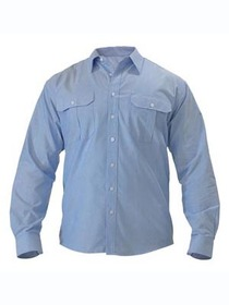 'Bisley Workwear' Oxford Long Sleeve Shirt