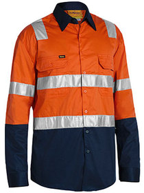 'Bisley Workwear'  3M Taped Cool Lightweight Shirt with Shoulder Tape