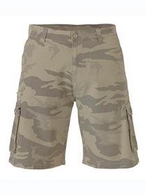 'Bisley Workwear' Camo Cargo Shorts