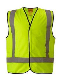 'Bisley Workwear' HiVis X Taped Lightweight Vest