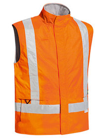 'Bisley Workwear'  3M Taped Hi Vis Anti Static Wet Weather Vest