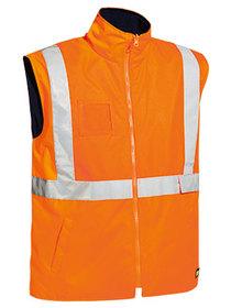 'Bisley Workwear'  Taped Hi Vis Wet Weather Vest