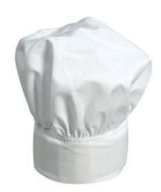 'Aussiechef' White Adjustable Chef's Hat