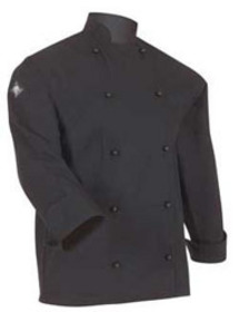 'Aussie Chef' Classic Long Sleeve Black Jacket