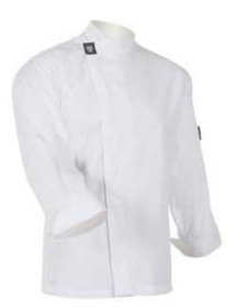 'Aussie Chef' White Long Sleeve Tunic Top