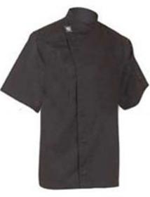 'Aussie Chef' Black Short Sleeve Tunic Top