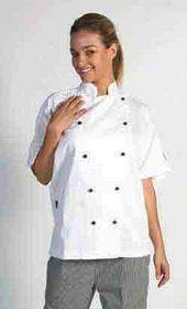 'DNC' Traditional Short Sleeve Chef Jacket