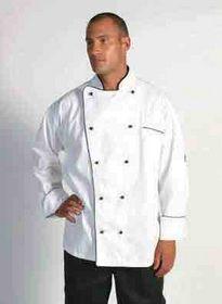 'DNC' Classic Long Sleeve Chef Jacket