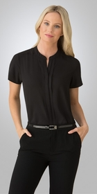 'City Collection' Ladies Envy Short Sleeve Blouse