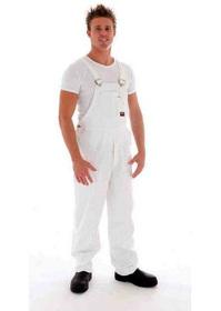 'DNC' Cotton Drill Bib and Brace Overall