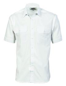 'DNC'  Polyester Cotton Short Sleeve Work Shirt