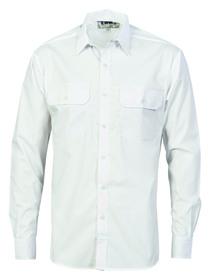 'DNC'  Polyester Cotton Long Sleeve Work Shirt