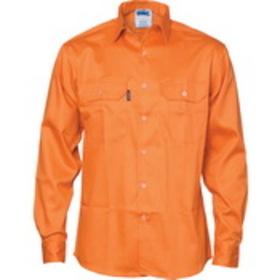 'DNC' Patron Saint Flame Retardant Drill Arc Rated Long Sleeve Shirt