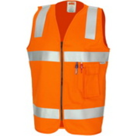 'DNC' Patron Saint Flame Retardant Drill Arc Rated Safety Vest with Reflective Tape