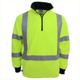 'DNC' HiVis  X  Back and Biomotion Polar Fleece