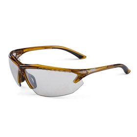 'DNC' Aurora Transition Safety Spec with Clear Full Silver Mirror Lens
