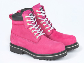 'She Wear' She Can Womens Safety Work Boot with Water Resistant Upper - Hot Pink