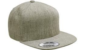 FLEXFIT CLASSIC WOOLBLEND SNAPBACK FLAT PEAK CAP 6689F NEW FLEX FIT