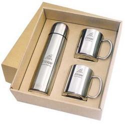 Vacuum Flask and Mug Gift Set