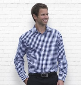 'Gear For Life' Mens The Hartley Check Long Sleeve Shirt
