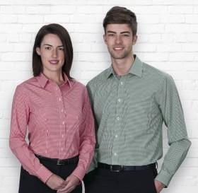 'Gear For Life' Mens The Kingston Check Long Sleeve Shirt