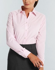 'Gloweave' Ladies Puupy Tooth Long Sleeve Shirt
