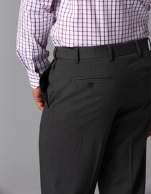 'Gloweave' Mens Flat Front Pant
