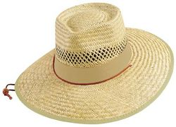 'Legend' Straw Hat with Toggle