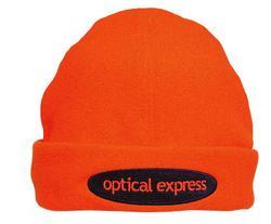 'Headwear Professionals' Luminescent Safety Micro Fleece Beanie