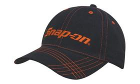 'Headwear Professionals' Brushed Heavy Cotton with Contrast Stitching on Peak