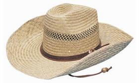 'Headwear Professionals' Cowboy Straw