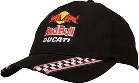 'Headwear Professionals' Brushed Heavy Cotton with Racing Ribbon On Peak and Closure