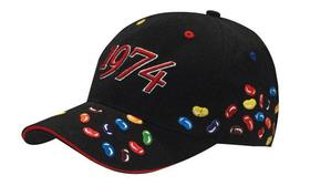 'Headwear Professionals' Brushed Heavy Cotton with Jelly Bean Embroidery