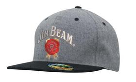 'Headwear Professionals' Grey Marle Flannel with Snap Back Pro Styling