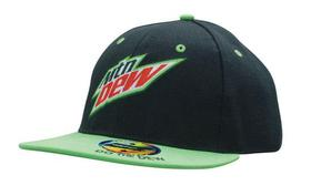 'Headwear Professionals' Premium American Twill Youth Size with Snap Back Pro Junior Styling