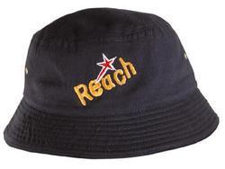 'Headwear Professionals' Childs Brushed Sports Twill Bucket Hat