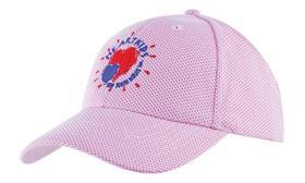 'Headwear Professionals' Mesh Covered Cotton Twill Cap