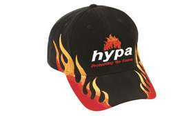 'Headwear Professionals' Brushed Heavy Cotton with Double Flame