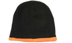 'Headwear Professionals' Roll Down Acrylic and Polar Fleece Beanie