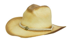 'Headwear Professionals' Sprayed Cowboy Straw