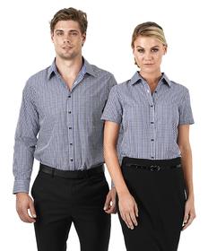 'Identitee'  Ladies Hudson Short Sleeve Shirt