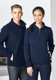 'Biz Collection' Mens Trinity ½ Zip Jacket