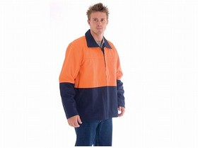 'DNC' HiVis Two Tone Protector Drill Jacket