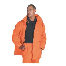 'DNC' HiVis Breathable Rain Jacket