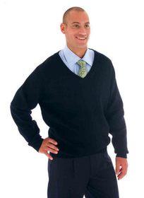 'DNC' Mens Pullover Wool Blend Jumper