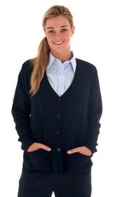 'DNC' Ladies Wool Blend Cardigan