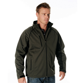 'DNC' Mens Full Zip Swiss Softshell Jacket