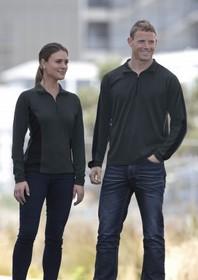 'Gear For Life' Mens Merino Contrast Insert Pullover